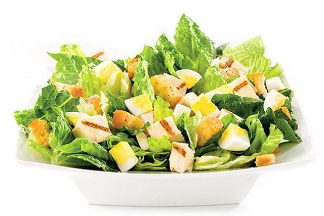 Chicken Caesar Salad from Saladworks