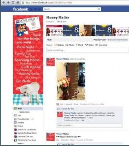 Money Mailer Facebook Page