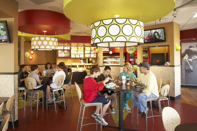 Schlotzsky's Restaurant Interiors