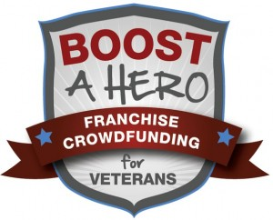 Sprigster's Boost a Hero Logo
