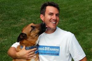 John Reh, founder and president of Dogs Love Running!