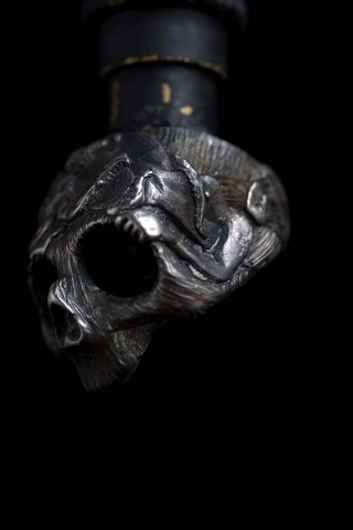 13 Lucky Monkey Skull Ring (G)