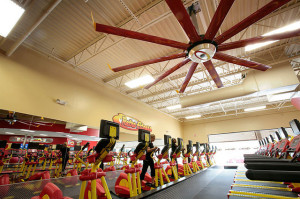 Retro Fitness Franchise Photo by Big Ass Fans