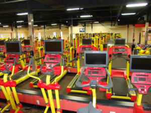 Retro Fitness Interior Photo