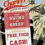 Charley's Grilled Subs Kicks Off Baseball Season with a Text Campaign Where Participating Customers are Guaranteed to Win One of Five Prizes