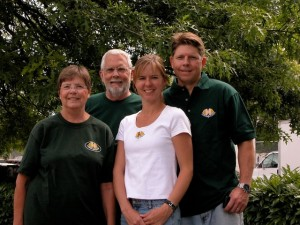 Original Founders, Marty's Mom Maureen, Marty's Dad Barry, Mirjam and Marty Bennett