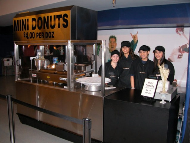 Cin City Donuts at GM Place