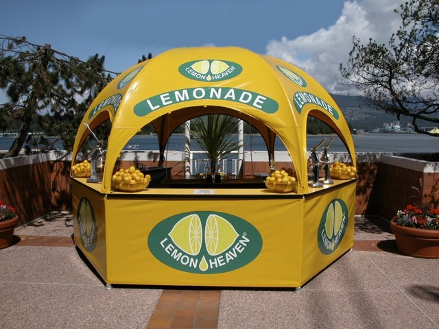Lemon Heaven Kiosk