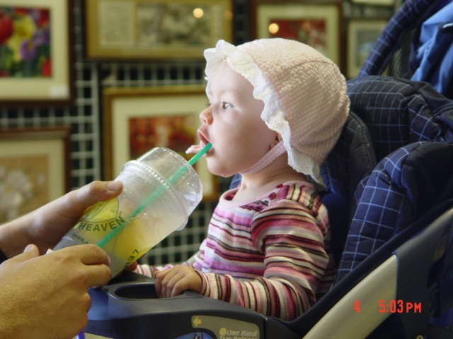 Lemon Heaven's Youngest Customer