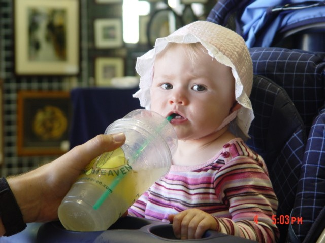 Lemon Heaven's Youngest Customer
