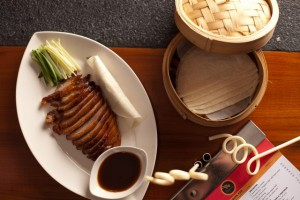 Singapore style roasted duck with hoisin sauce from the noodle house