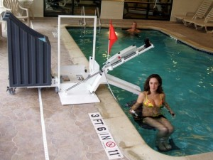 Amramp's Pool Lift