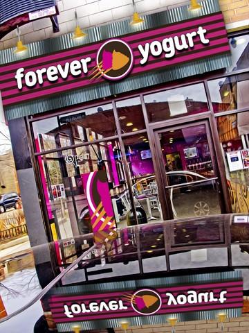 Forever Yogurt Concept Rendering