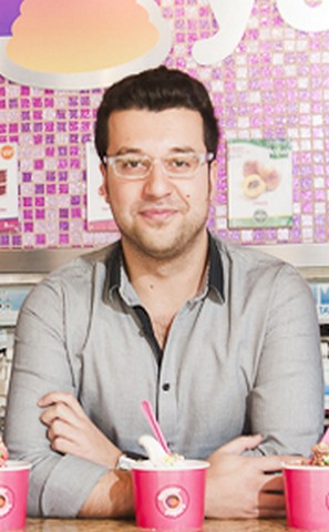 Ahmad Yilmez, Co-Founder and Creative Director of Forever Yogurt