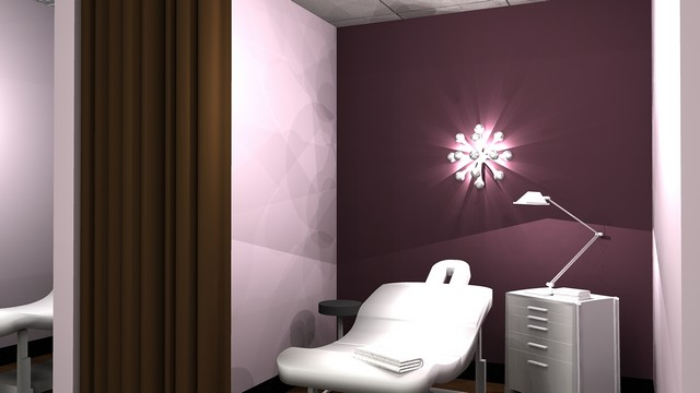 The Lash Lounge Application Room