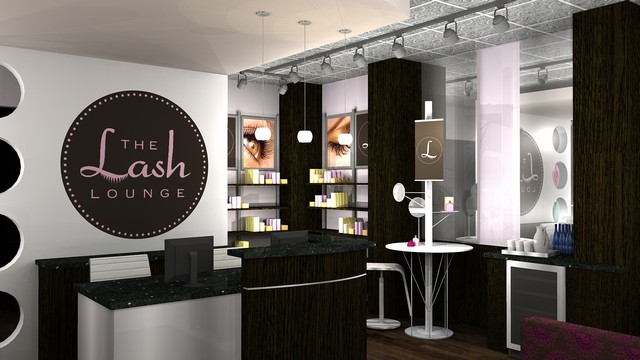 The Lash Lounge Cosmetics Retail Section