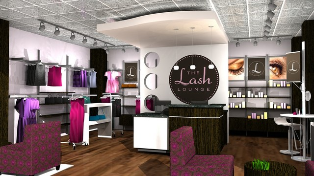 The Lash Lounge Entry View