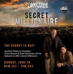 Anytime Fitness on Secret Millionaire