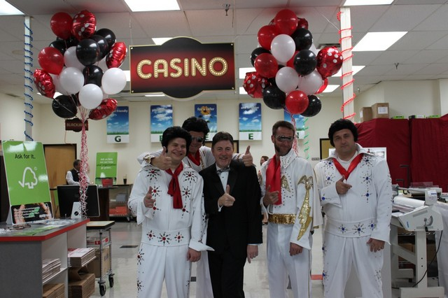 Casino Night at Alpagraphics on Camelback Road, Phoenix, Arizona
