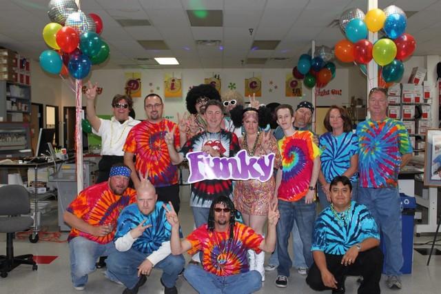 Themed Party at Alpagraphics on Camelback Road, Phoenix, Arizona