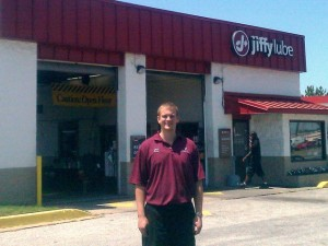 Miles Blauvelt, Jiffy Lube Franchisee in Baltimore, Maryland