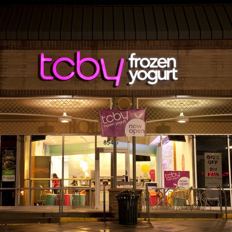 TCBY at the Arapahoe Market in Greenwood Village, Colorado