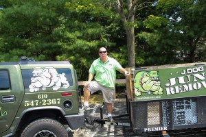 Jerry Flanagan, Founder and President of JDog Junk Removal