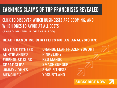 Subscribe to Franchise Chatter's FDD Talk