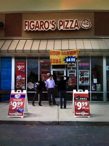 Figaro's Pizza Restaurant Exterior Photo by bkpace1
