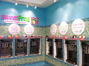 sweetFrog Frozen Yogurt Interior Photo by Brambleton
