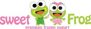 sweetFrog frozen yogurt logo