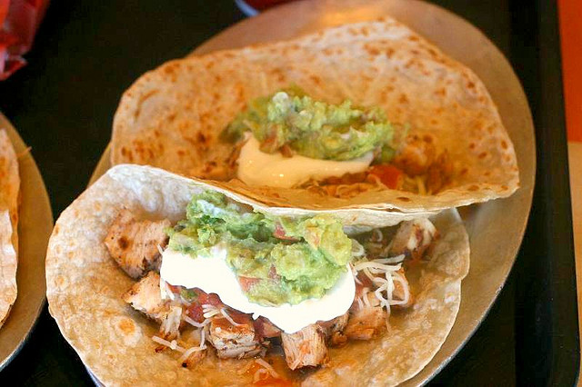 Photo of Panchero's Mexican Grill Chicken Soft Tacos by Elizabeth/Table4Five