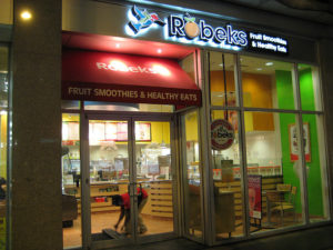 Robeks Fruit Smoothies and Healthy Eats Store by maxfisher