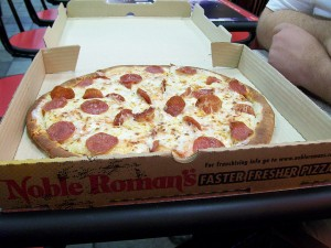 Noble Roman's Pizza Photo by jrwisno1