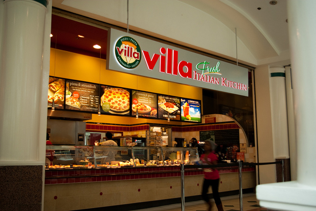 Villa Pizza Fresh Italian Kitchen Menu