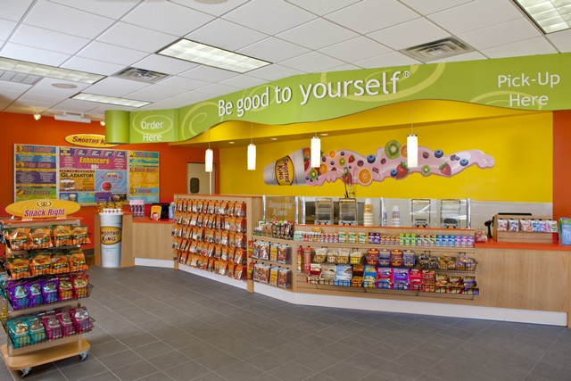 Smoothie King Store Interior Photo