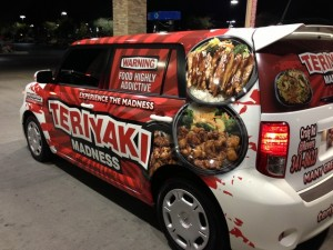 Teriyaki Madness Car