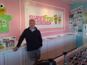 Tim Boswell, sweetFrog Franchisee