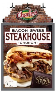 Charley's Bacon Swiss Steakhouse Crunch
