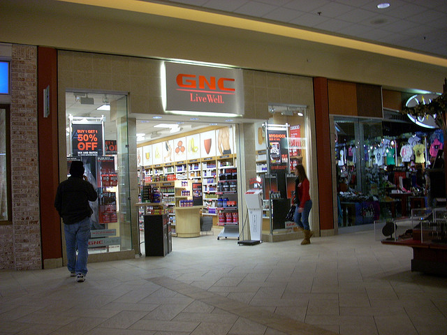 GNC Store Photo by RetailByRyan95