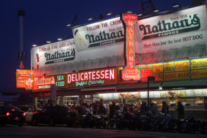 Nathan's Famous Photo by joseph a
