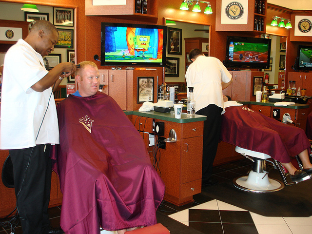 V's Barbershop Photo by TownePost Network