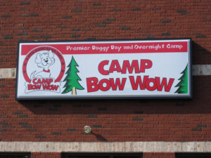 Camp Bow Wow Sign by gavitalsigns