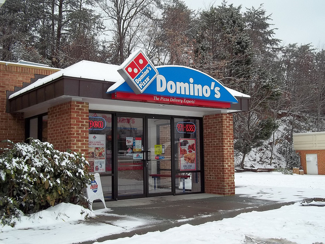 Domino's Pizza Exterior Photo by wreckinturn3