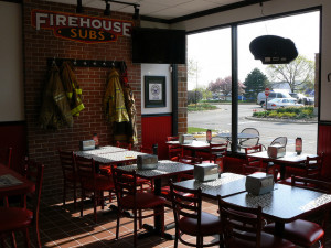 Firehouse Subs Interior Photo by Thorndale Construction Services
