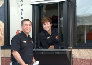 Marco's Pizza Franchisees Kevin and Laurel Wilkerson
