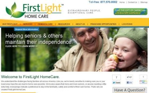 FirstLight Home Care Website