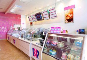 Baskin Robbins Interior