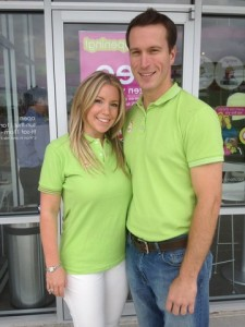 Kelly and Jack Page, Franchisees of Menchie's