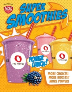 RED MANGO SUPERBIOTIC SMOOTHIES
